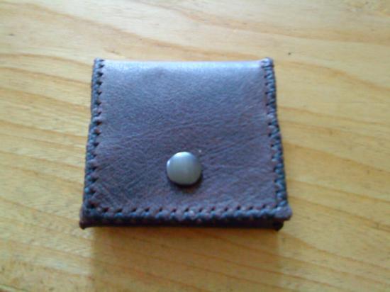 fabrication d'un porte-monnaie 20 euros