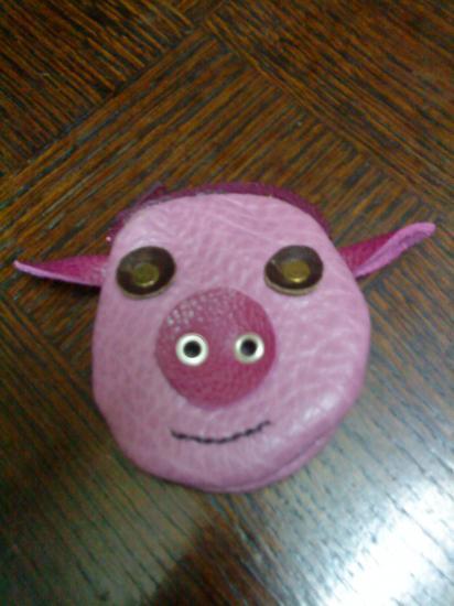 porte-monnaie cochon